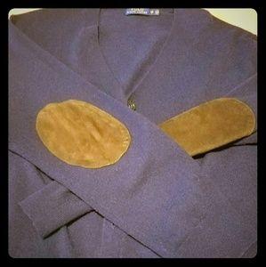 Ralph Lauren Polo Men's Navy Blue Cardigan